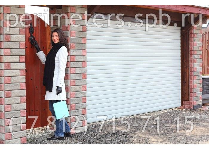 рулонные ворота на гараж цена омск